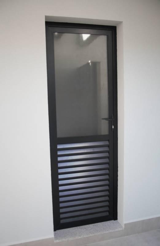 Portas de Alumínio para Cozinhas na Juquitiba - Porta de Correr Trilho Embutido
