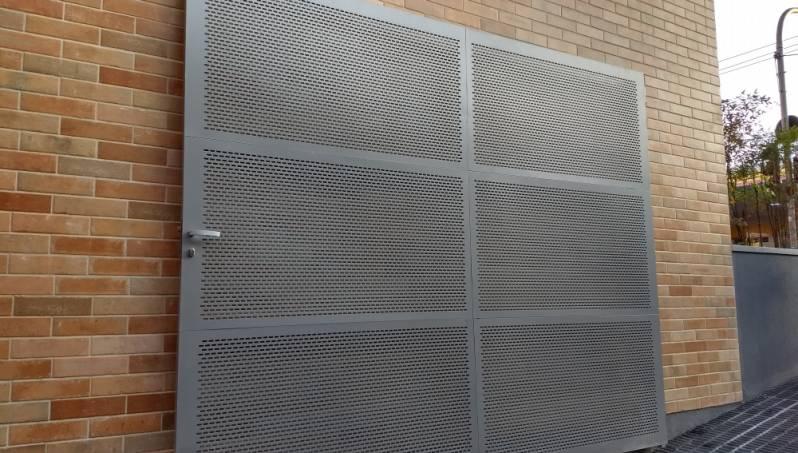 Projetos de Portões de Alumínio sob Medida em Araras - Portão de Alumínio Automático Basculante