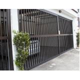 fabricante de portão de alumínio bronze na Ubatuba