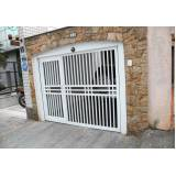 instalação de portão de alumínio para garagem na Marapoama