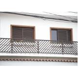 janela de alumínio bronze na Bragança Paulista