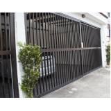 portão de alumínio anodizado em Caieiras